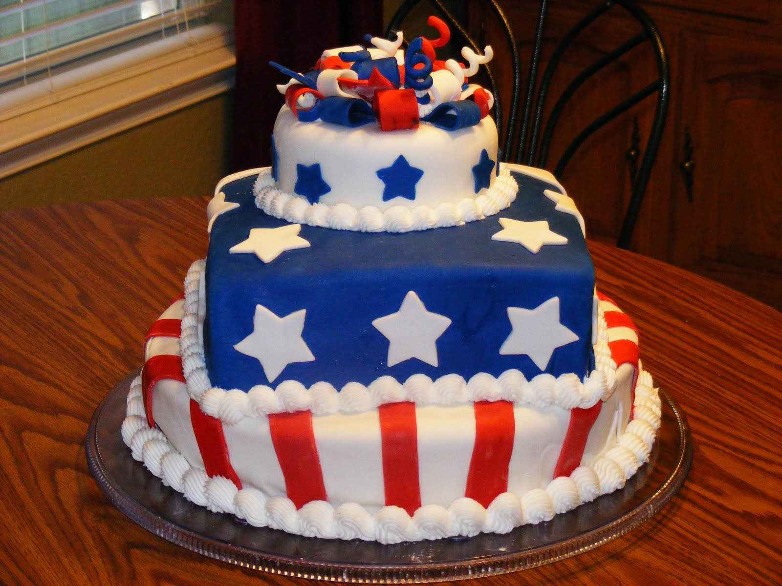 1600 x 1200 jpeg 205kB, Fabulous 4th Of July Birthday Cake source ...