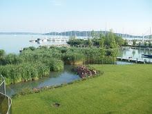 Balatonsjøen i Ungarn