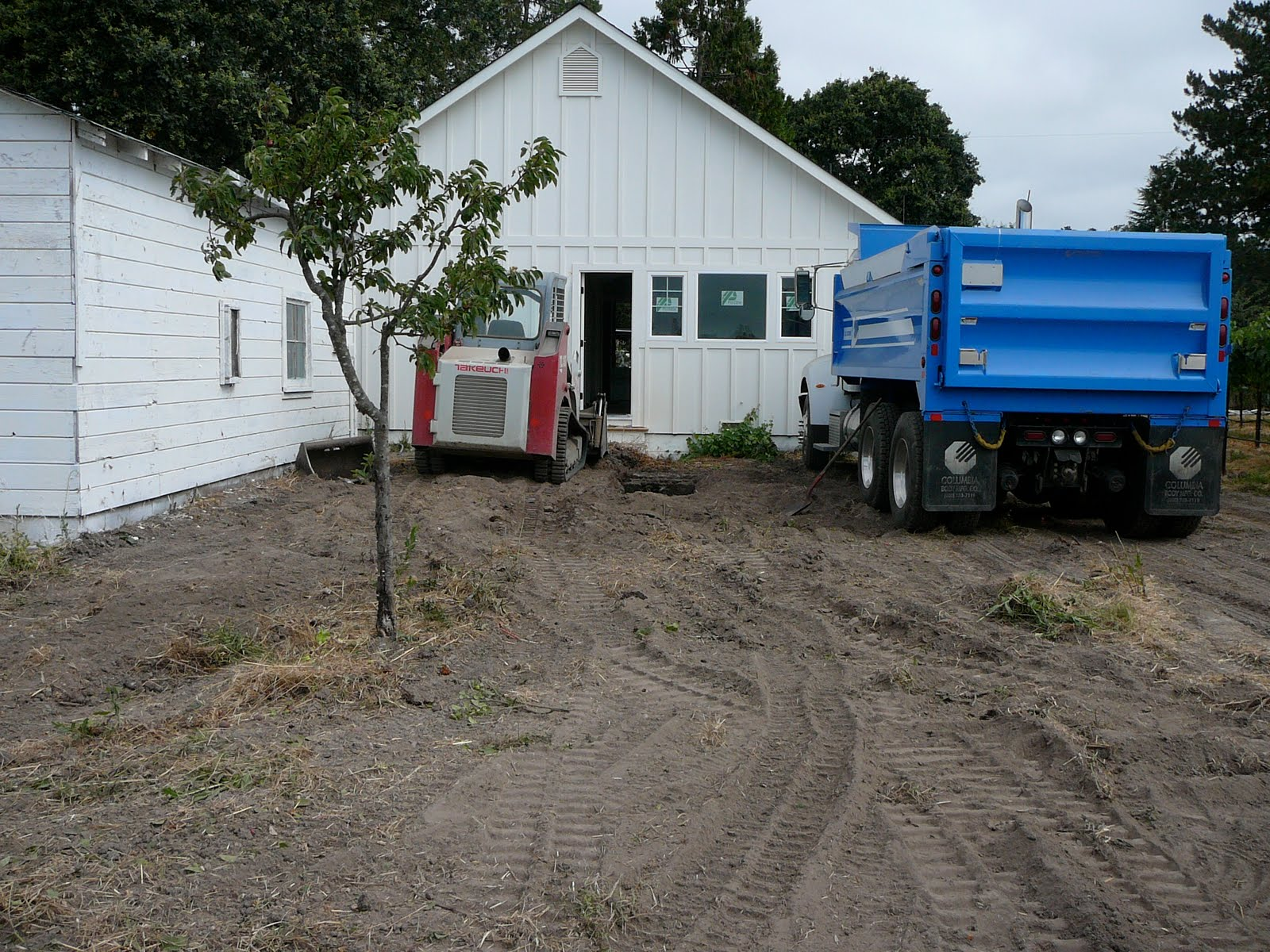 New septic system tre sorelle cottage for Cottage septic systems