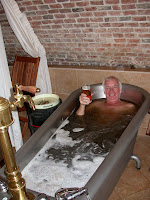 Czech Beer Spa. Photograph by Janie Robinson, Travel Writer