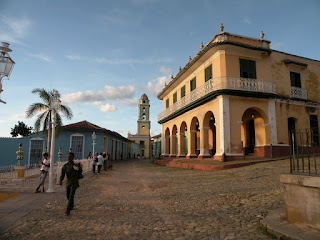 Plaza Mayor sits at the heart of Trinidad de Cuba. Photograph by Janie Robinson, Travel Writer