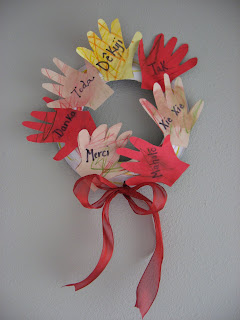 A World of Thanks Wreath