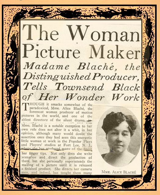 "Alice Guy ""THE WOMAN PICTURE MAKER"""