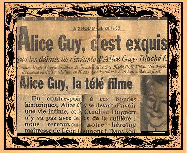 ALICE GUY C'EST EXQUIS