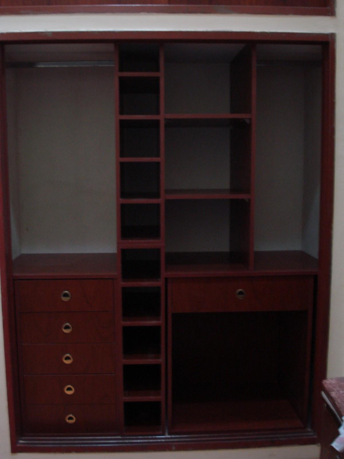Closet con puertas corredizas madera maple melamina for Closet con puertas corredizas