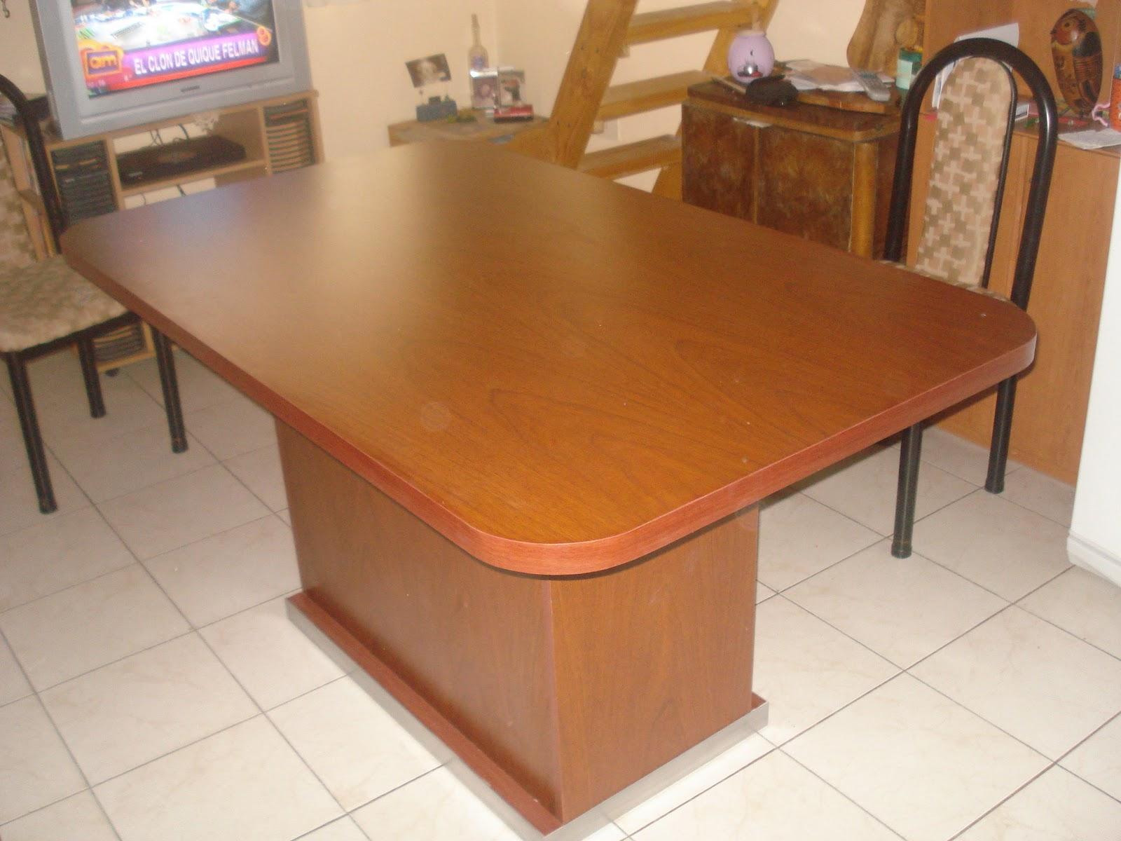 Mesas de comedor daa carpinter a for Modelos de mesas de comedor de madera