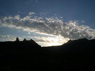Sunrise in Sedona