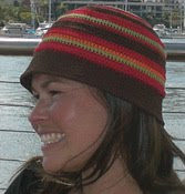 Crochet hat pattern, bucket style