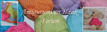 Amigurumi en Haak Forum.