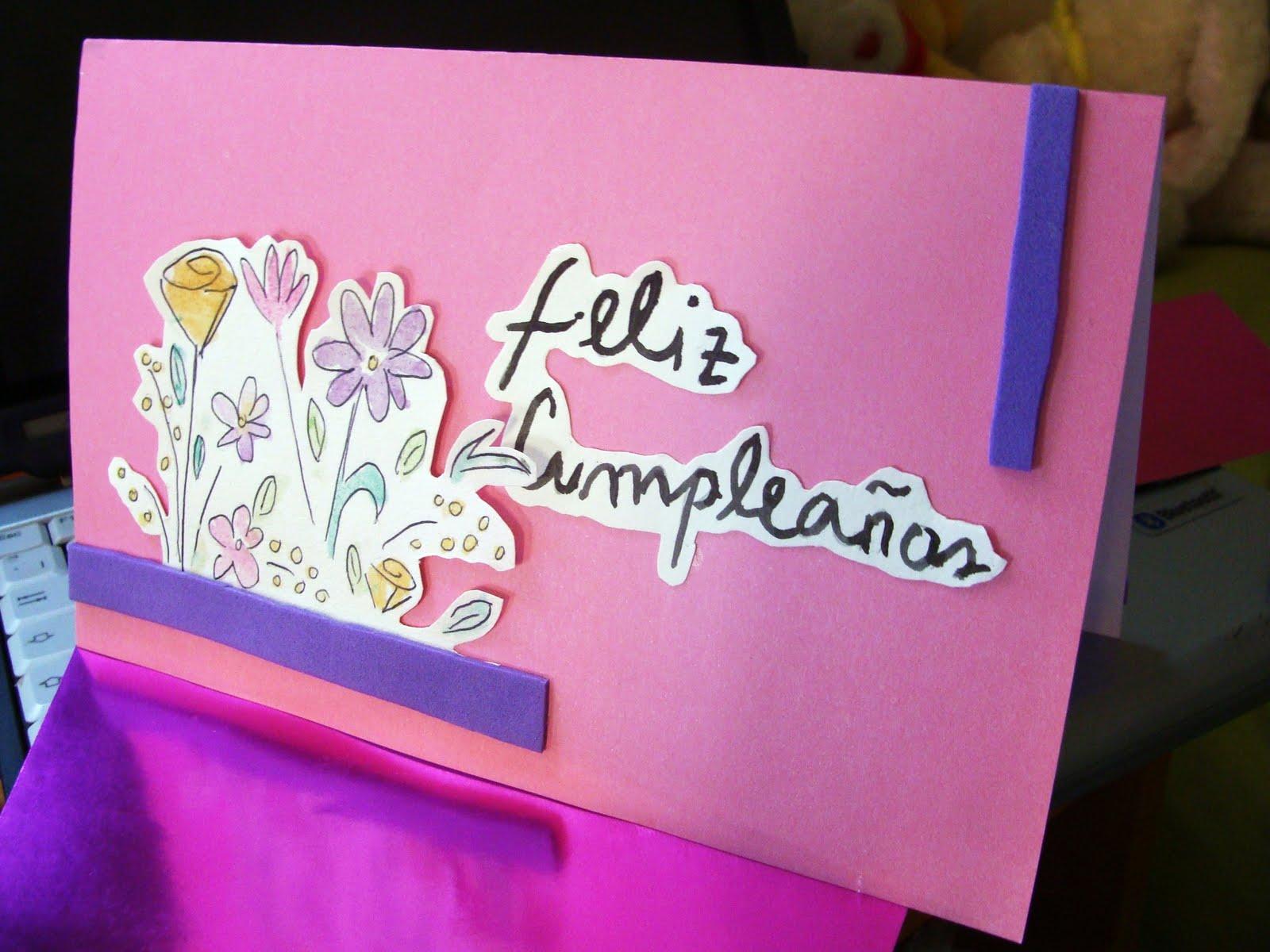Quiero un Scrapbook!: Tarjetas de Cumpleaños!