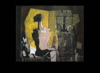 Em sua obra, Georges Braque já dispunha da arte abstrata na técnica de facetar