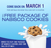 Free Nabisco Cookies for Facebook fans