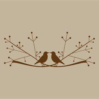Love birds vinyl decal giveaway contest