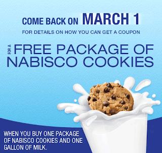 Free Nabisco printable coupon