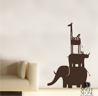 animals vinyl decal