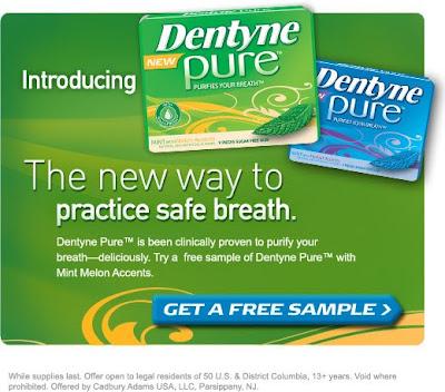 Dentyne Gum Free Sample
