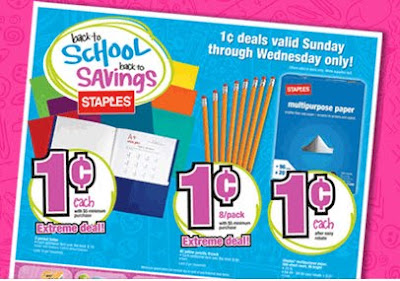 Staples Deals Back to School