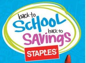 Back to School Staples Savings