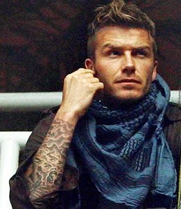David Beckham Tattoo | Artists Gallery, Tattoo Artists Gallery ...