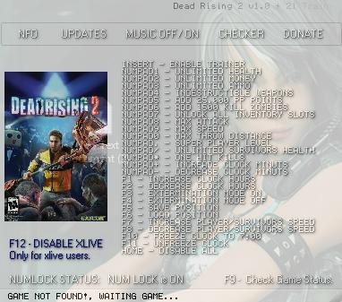 Тренер Для Dead Rising 2 Off The Record