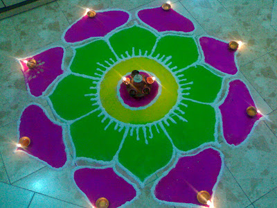 Rangoli Design Patterns Floor Art Wallpapers
