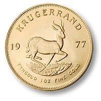 gold coin Krugerrand