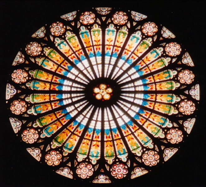 Gothic Stained Glass Windows | 662 x 599 · 105 kB · jpeg