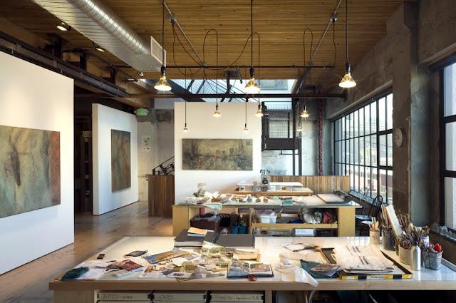 Amassing design artist 39 s studio tom kundig olson for Architecture studio