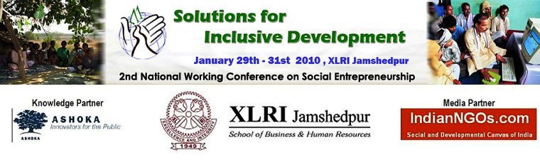 2nd National Conference on Social Entrepreneurship @ XLRI