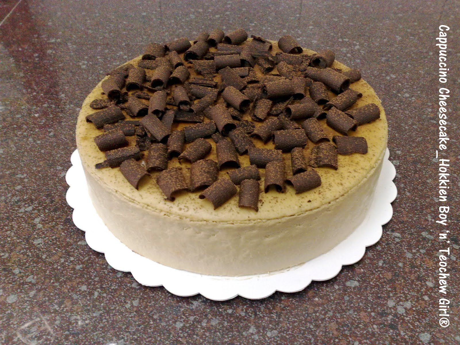 Cappuccino Cheesecake Recipes — Dishmaps