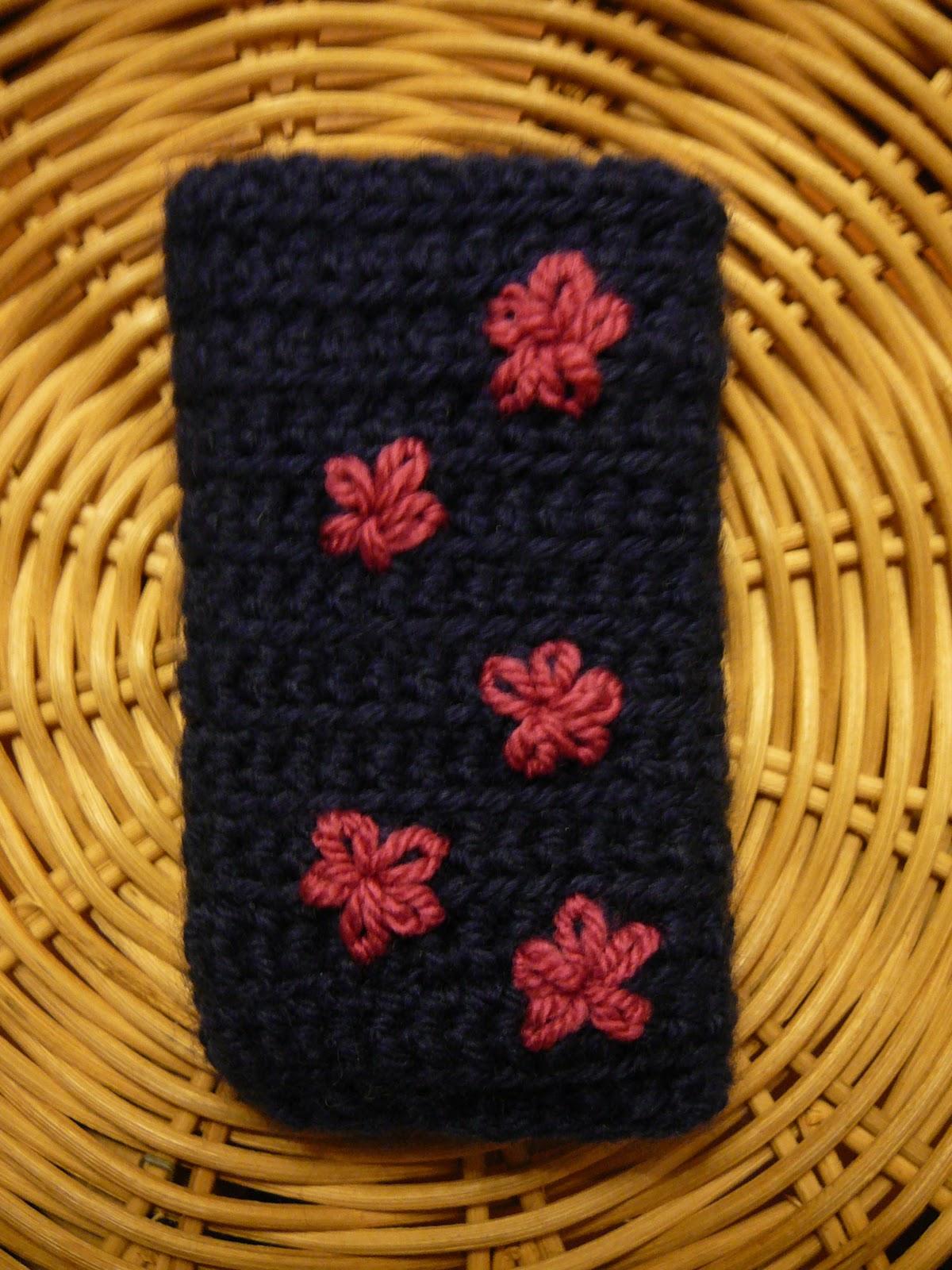 nadia barthlom housse en crochet pour mon smartphone. Black Bedroom Furniture Sets. Home Design Ideas