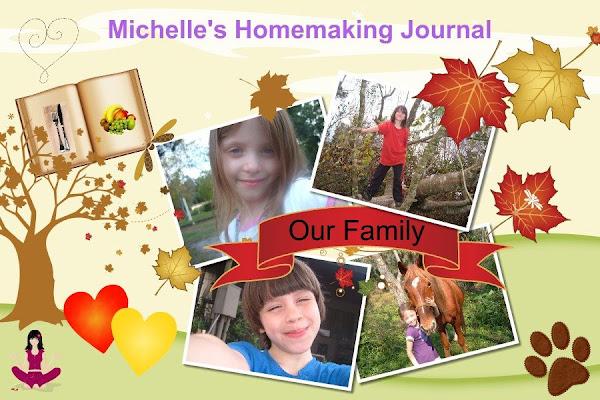 Michelle's  Homemaking Journal