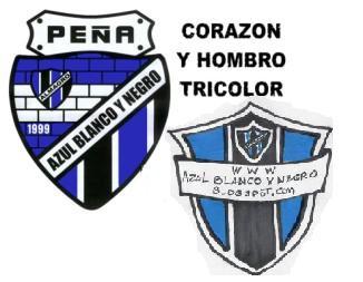 Peña Azul, Blanco y Negro