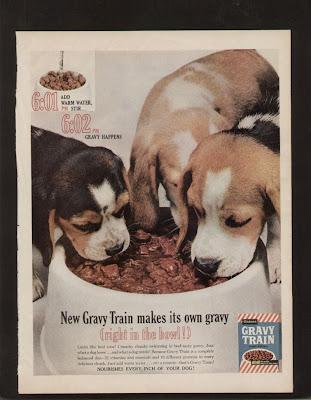 Dog Eating Pickup