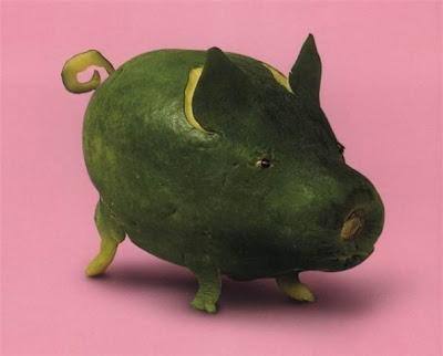 vege humor - warzywna świnka