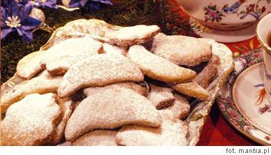 Przepis na wegetariański deser na wigilię - ciasteczka orzechowe