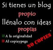 ¡Originalidad!