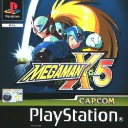 Megaman X5 psx