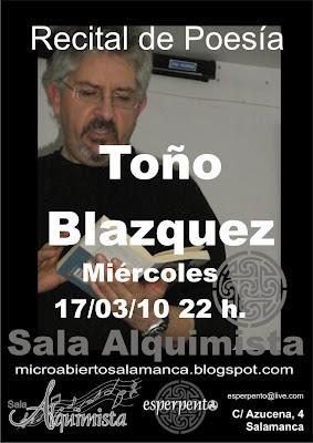 TOÑO BLAZQUEZ