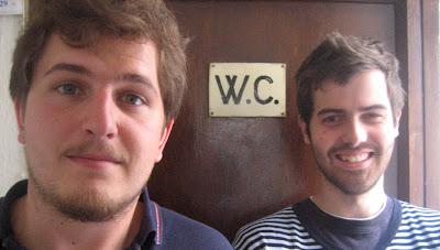 ben Clark y Víctor Balcells