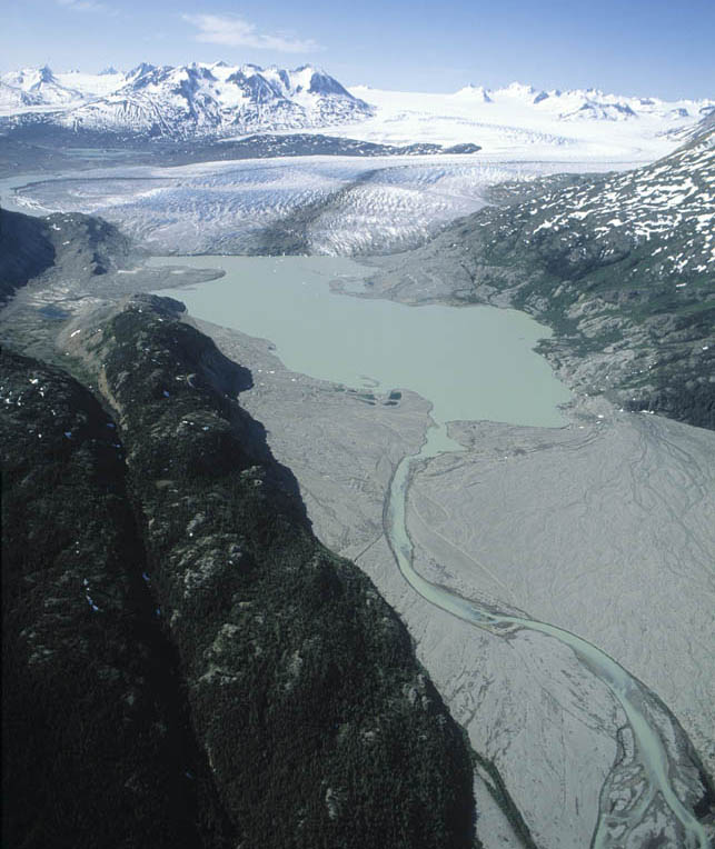 llewelyn glacier w  finger