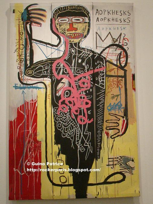 rockerparis jean michel basquiat exhibition mus e d 39 art moderne de la ville de paris. Black Bedroom Furniture Sets. Home Design Ideas