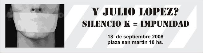 A 2 años de la desaparicion con vida de Julio Lopez
