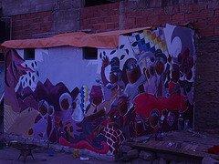 mural en cochabamba