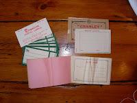 Vintage Mailing Labels