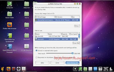 Desktop cantik Ubuntu