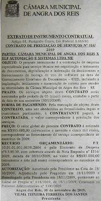 Contrato de automação e software: R$995.000,00