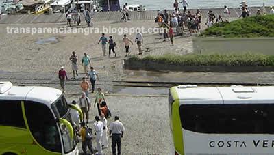 Turistas não ficaram em Angra