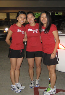 The Three Runner-teers: I am the one on the right.