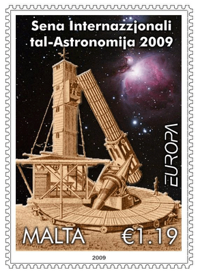 IYA 2009 Interactive Stamps Issued by Malta